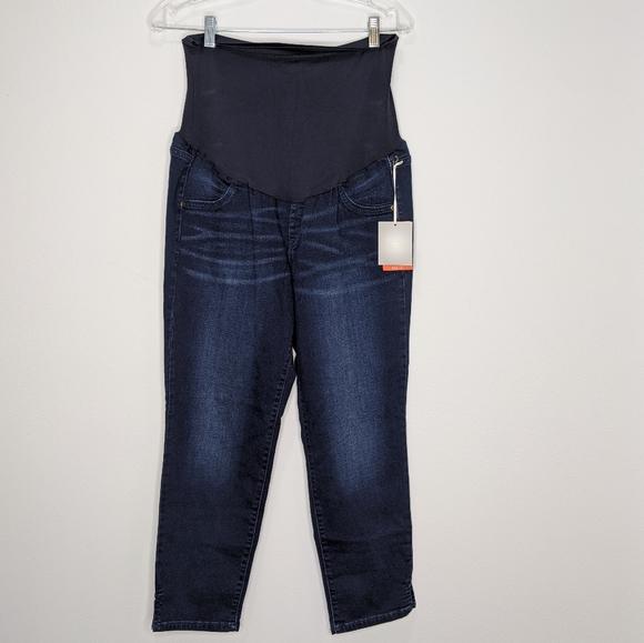 A Glow Jeans Aglow Crop Jegging Maternity Pants Poshmark